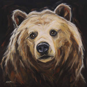 Grizzly Bears Art Prints