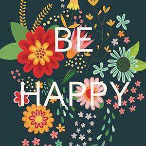 Happiness Canvas Art Prints