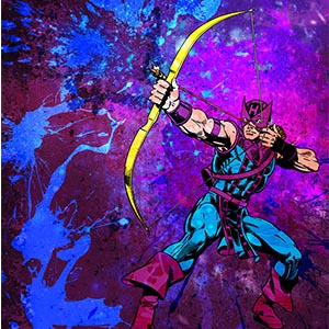 Hawkeye Canvas Artwork