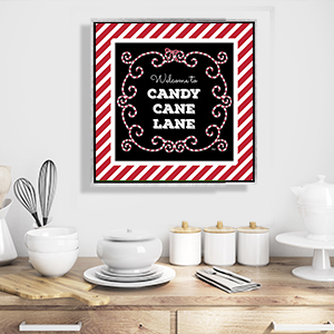 Holiday Eats & Treats Canvas Prints