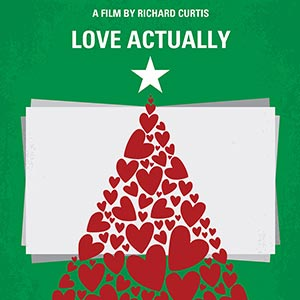 Holiday Movies Minimalist Movie Posters Canvas Wall Art