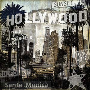 Hollywood Canvas Art Prints