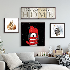 Home for the Holidays Art Prints
