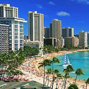 Honolulu Canvas Art