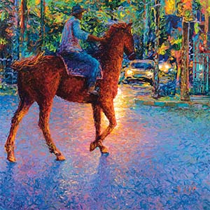 Horseback Canvas Art Prints