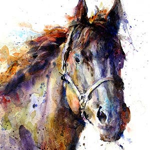 Horses Canvas Art