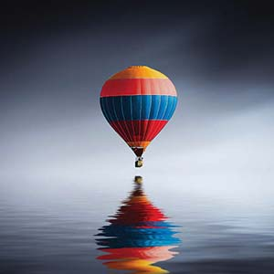 Hot Air Balloons Canvas Wall Art