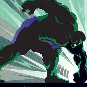 Hulk Canvas Art Prints