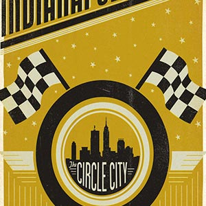 Indianapolis Canvas Prints