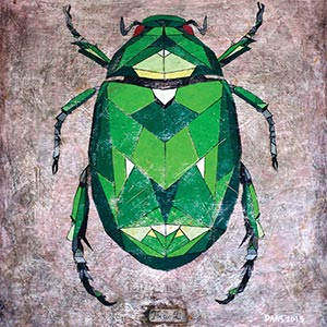 Insects Canvas Wall Art