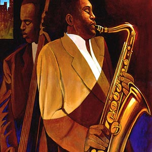 Jazz Music Canvas Artwork