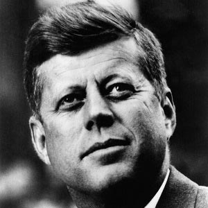 John F. Kennedy Canvas Wall Art