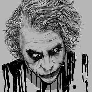 The Joker Canvas Artwork