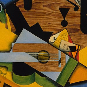 Juan Gris Canvas Artwork