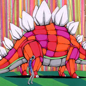 Kids Dinosaur Art Canvas Art Prints