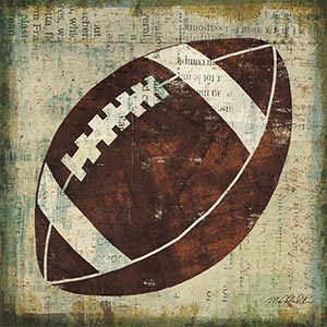 Kids Sport Art Canvas Artwork