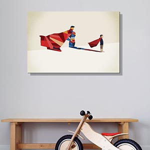 Kids' Favorite Characters Canvas Artwork