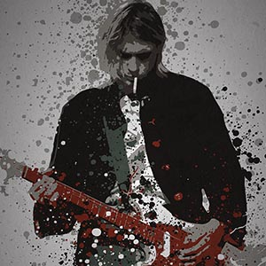 Kurt Cobain Art Prints