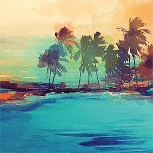 Beaches Canvas Art