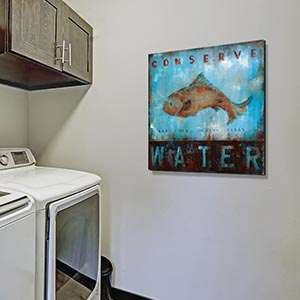 Laundry Room Canvas Art