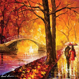 Leonid Afremov Canvas Artwork