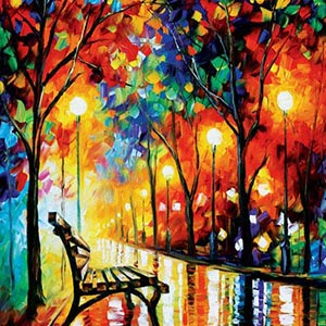 BanksyThe Most Celebrated Street Artist in History; Leonid Afremov Canvas  Artwork