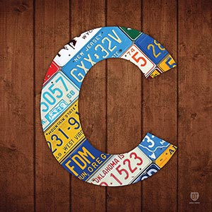 Letter C Canvas Art Prints