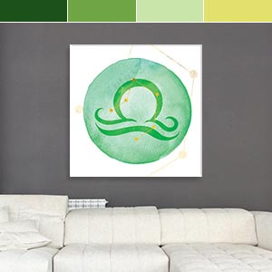 Libra Colors Canvas Prints