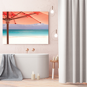 Living Coral Canvas Art Prints