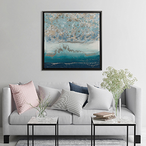 Home Staging Living Room Canvas Wall Art