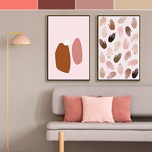 Living Coral - 2019 Canvas Wall Art