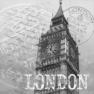 London Travel Posters Canvas Artwork