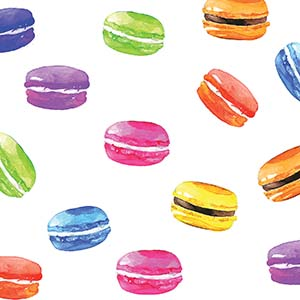 Macarons Canvas Art Prints
