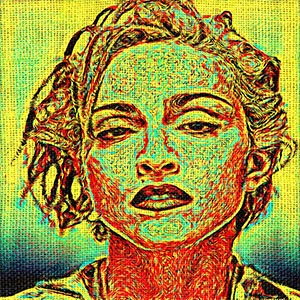 Madonna Canvas Art