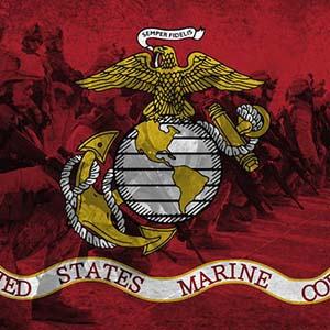 Marines Canvas Prints