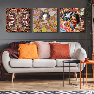 Maximalism Canvas Prints