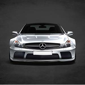 Mercedes-Benz Canvas Prints