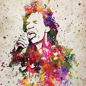 Mick Jagger Art Prints