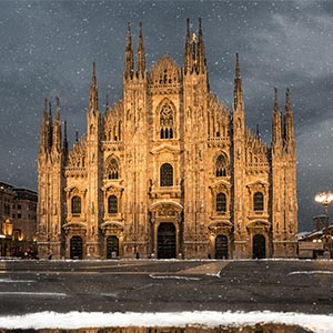 Milan Canvas Art Prints