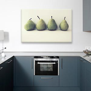 Minimalist Kitchen Canvas Wall Art