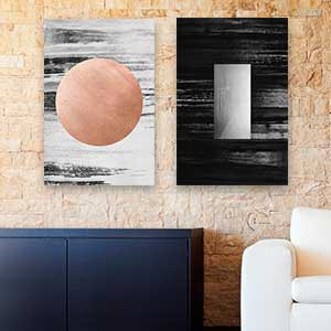 Minimalist Living Room Canvas Artwork