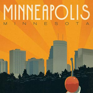 Minneapolis Canvas Wall Art