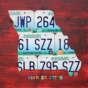 Missouri Canvas Wall Art