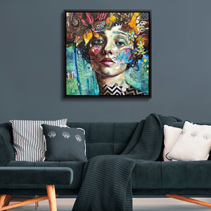 Modern Portraiture Art Prints