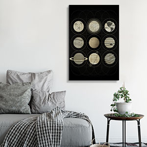 Modern Scientific Canvas Art Prints