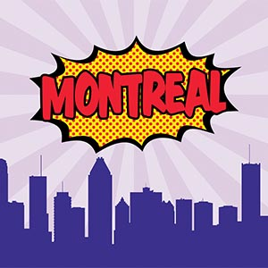 Montreal Canvas Art