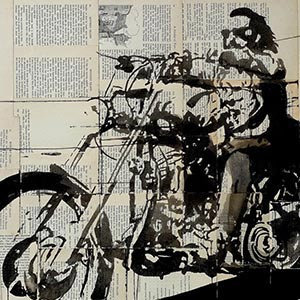 Motorcycles Canvas Artwork