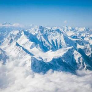 Mount Everest Canvas Artwork