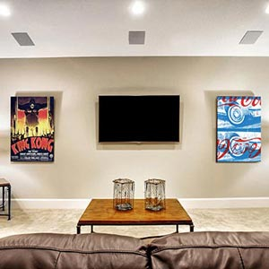 Movie Night Canvas Prints