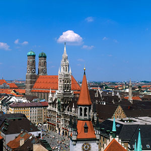 Munich Canvas Art Prints